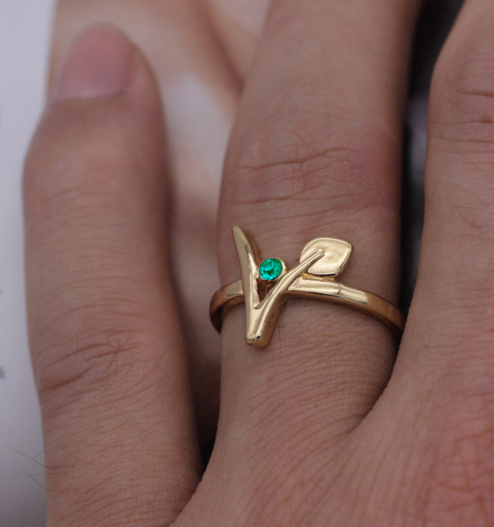 Beautiful Vegan Ring