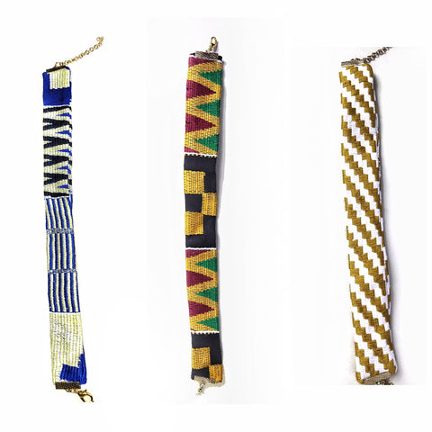 Kente Chokers