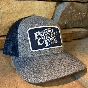 HEATHER NAVY/NAVY PCL LOGO PATCH HAT