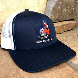 NAVY/WHITE PCL STATES PATCH HAT