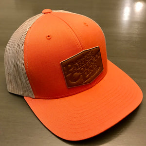 """PCL LOGO"" SNAPBACK LEATHER PATCH HAT"