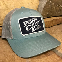 SMOKE BLUE/ALUMINUM PCL LOGO PATCH HAT