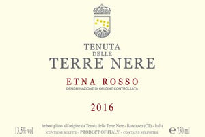 Terre Nere Etna Rosso 2017