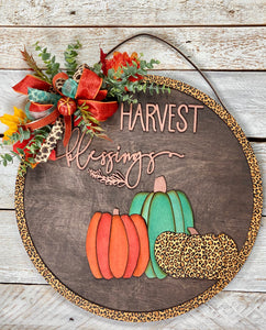 Handcrafted Fall sign