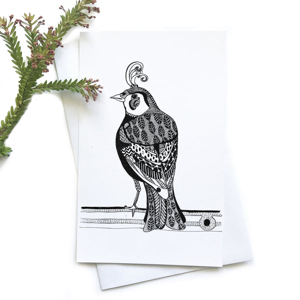 Finch Greeting Cards 4 Pack - Mikmat Designs Earrings Laser Cut Designs