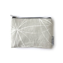 Load image into Gallery viewer, Linen Snowflake Small Pouch - Mikmat Designs