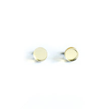 Load image into Gallery viewer, Dot Mirror Stud Earrings CHOOSE YOUR COLOUR - Mikmat Designs