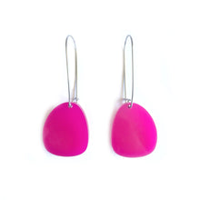 Load image into Gallery viewer, Pendulum Hook Earrings Pink - Mikmat Designs