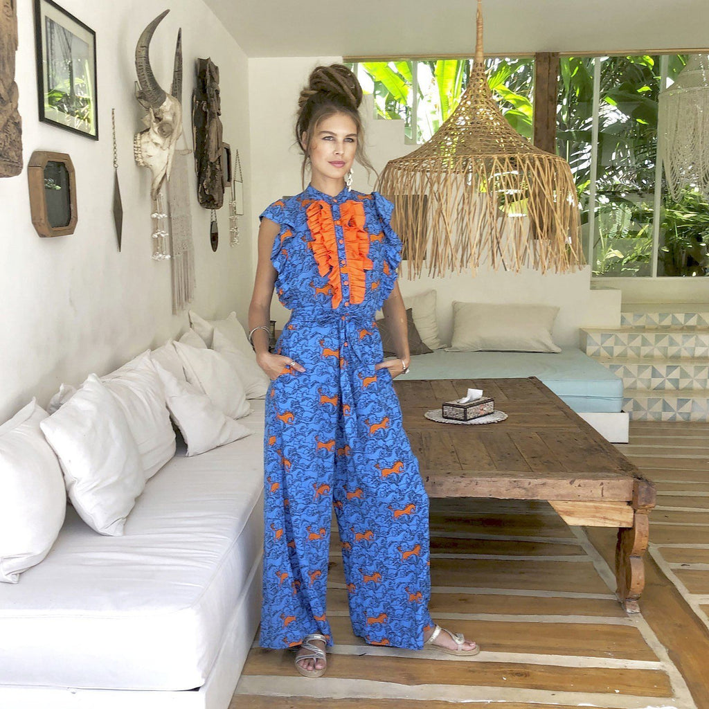EMANUELLE JUMPSUIT Dresses Feather & Find