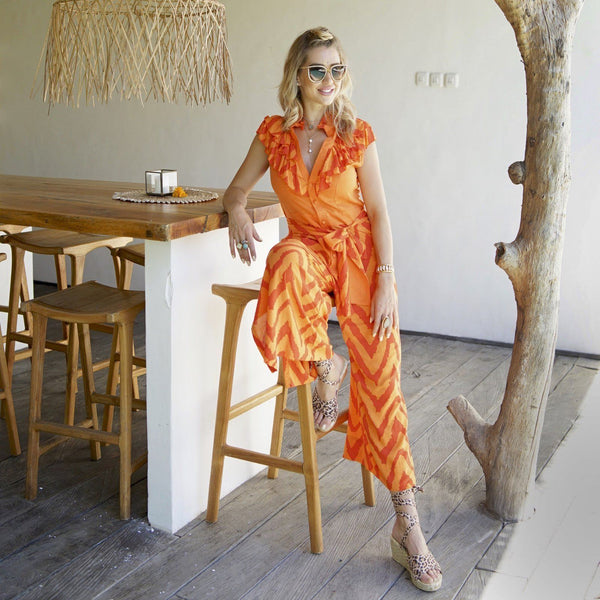 HALA JUMPSUIT Jumpsuit Feather & Find