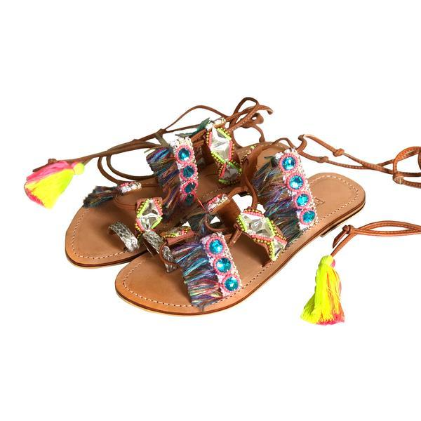 hippie dancer bohemian sandal