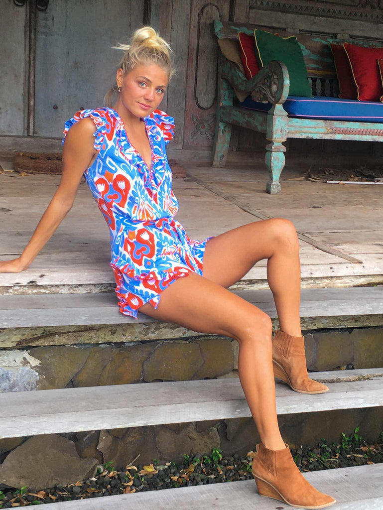 Miramar Playsuit Playsuit Feather & Find