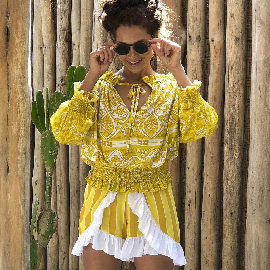 OPRAH SUMMER TOP tops Feather & Find