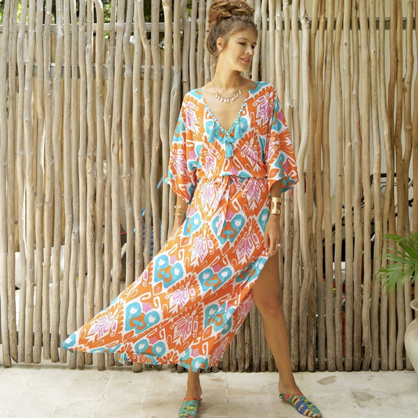 SHIMOO KAFTAN Kaftan Feather & Find