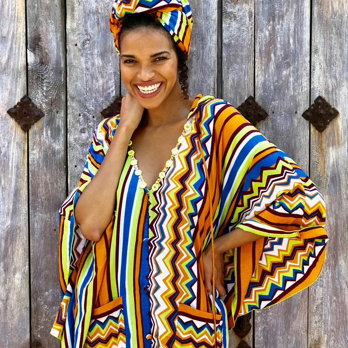 sonora poncho Kaftans Feather & Find