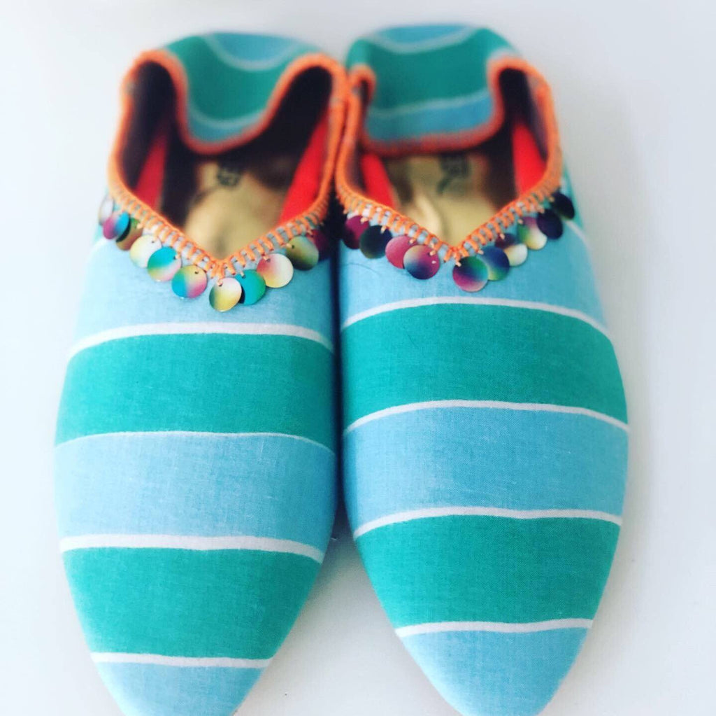 Medina Slipper Shoes Feather & Find