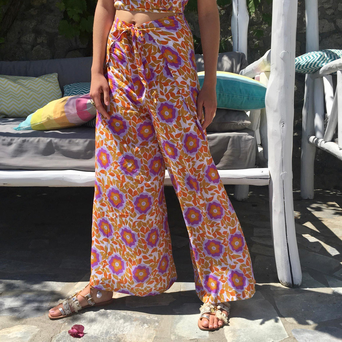 JAZABEL WRAP PANTS