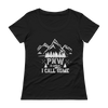 PNW is What I Call Home Ladies' Scoopneck T-Shirt