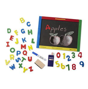 Melissa and Doug Magnetic Chalkboard and Dry-Erase Board