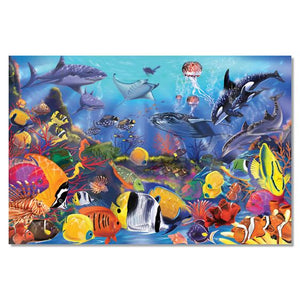 Melissa and Doug Underwater Floor Puzzle - 48 Pieces - All-Star Learning Inc. - Proudly Canadian