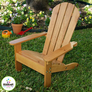 KidKraft Adirondack Chair Honey - All-Star Learning Inc. - Proudly Canadian