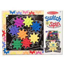 Melissa and Doug Switch & Spin Magnetic Gear Board