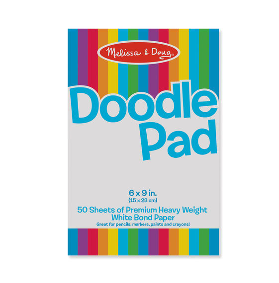Melissa and Doug Doodle Paper Pad - All-Star Learning Inc. - Proudly Canadian