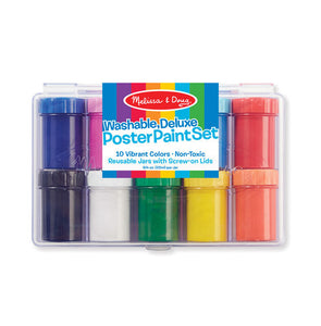 Melissa and Doug Deluxe Poster Paint Set - All-Star Learning Inc. - Proudly Canadian