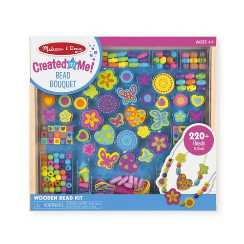 Melissa and Doug Bead Bouquet Deluxe Wooden Bead Set - All-Star Learning Inc. - Proudly Canadian