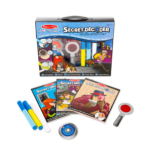 Melissa and Doug Secret Decoder Deluxe Activity Set - On the Go - All-Star Learning Inc. - Proudly Canadian