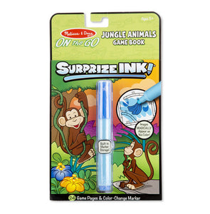 Melissa and Doug Surprize Ink! Jungle - ON the GO Travel Activity Book