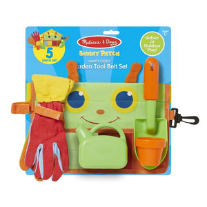 Melissa and Doug Happy Giddy Garden Tool Belt Set - All-Star Learning Inc. - Proudly Canadian