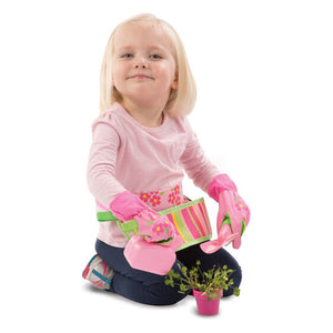 Melissa and Doug Blossom Bright Garden Tool Belt Set - All-Star Learning Inc. - Proudly Canadian