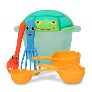Melissa and Doug Seaside Sidekicks Sand Baking Set - All-Star Learning Inc. - Proudly Canadian
