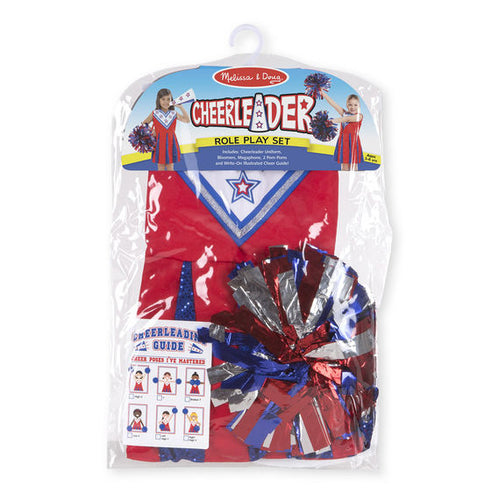 Melissa and Doug Cheerleader Role Play Costumer Set - All-Star Learning Inc. - Proudly Canadian