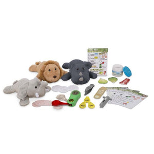 Melissa and Doug Track & Rescue Safari Animals Play Set - All-Star Learning Inc. - Proudly Canadian