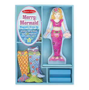 Melissa and Doug Merry Mermaid Magnetic Dress-Up Set - All-Star Learning Inc. - Proudly Canadian