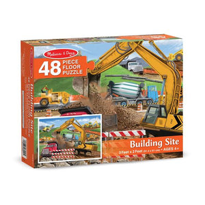 Melissa and Doug Building Site Floor Puzzle - 48 Pieces - All-Star Learning Inc. - Proudly Canadian