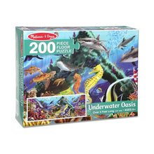 Melissa and Doug 200-Piece Floor Puzzle - Underwater Oasis - All-Star Learning Inc. - Proudly Canadian