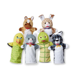 Melissa and Doug Pet Buddies Hand Puppets