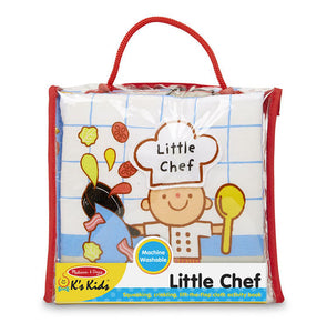 Melissa and Doug Soft Activity Book - Little Chef - All-Star Learning Inc. - Proudly Canadian