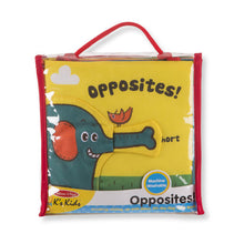 Melissa and Doug Soft Activity Book - Opposites - All-Star Learning Inc. - Proudly Canadian