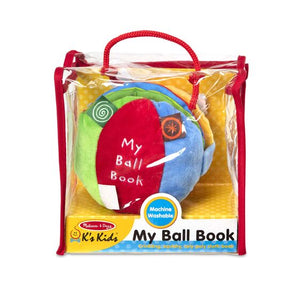 Melissa and Doug Soft Activity Book - My Ball Book - All-Star Learning Inc. - Proudly Canadian