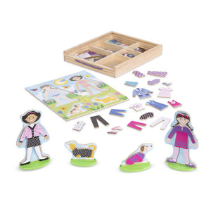 Melissa and Doug Best Friends Magnetic Dress-Up Play Set - All-Star Learning Inc. - Proudly Canadian