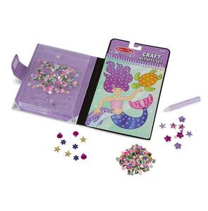 Melissa and Doug On the Go Sequin Scenes Activity Set - Mermaids - All-Star Learning Inc. - Proudly Canadian