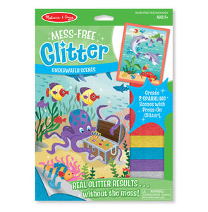 Melissa and Doug Mess-Free Glitter Underwater Scenes - All-Star Learning Inc. - Proudly Canadian