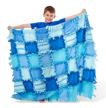 Melissa and Doug Created by Me - Striped Fleece Quilt - All-Star Learning Inc. - Proudly Canadian