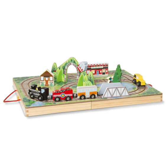 Melissa and Doug Take-Along Railroad - All-Star Learning Inc. - Proudly Canadian