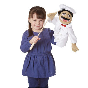 Melissa and Doug Chef Puppet with Detachable Wooden Rod