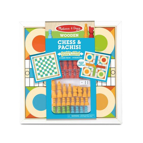 Melissa and Doug Wooden Chess & Pachisi - All-Star Learning Inc. - Proudly Canadian